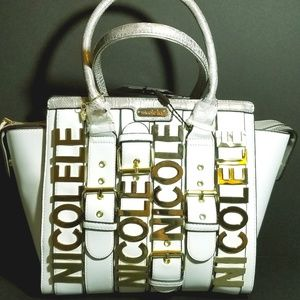 Nicole Lee Satchel Monogram Handbag